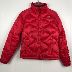 The North Face Coral Down Full Zip QuiltJacket -M